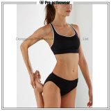 Form-trägt kundenspezifischer Polyester-Sport reizvollen Dame-Sport-Büstenhalter