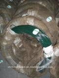 Pvc Met een laag bedekte PE van de Draad van pvc van de Draad van het Ijzer