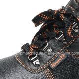Pattini di sicurezza d'acciaio poco costosi di vendita caldi della punta del cuoio genuino con Ce S3 S1p
