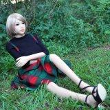 манекены силикона японской девушки куклы секса TPE 158cm реалистические