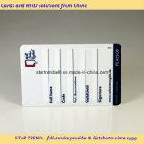 Cartão da identificação do estudante - cartão de sociedade plástico ISO7810 Cr80