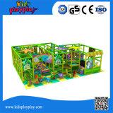 Спортивная площадка темы джунглей парка атракционов мягкая крытая для конструкции потехи малышей самой последней