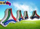 Placa de publicidade inflável com ventilador de ar