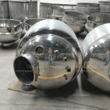 500litres衛生蒸気暖房のステンレス鋼混合タンク