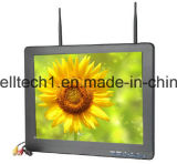 De dubbele 5.8GHz 32 Ontvanger van het Kanaal AV de Monitor van de Camera van 12.1 Duim