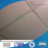 Tarjeta acústica libre del techo del asbesto aprobado de las lanas minerales de la ISO