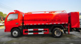 Dongfeng 6은 5 톤 5000 L 물 화재 전투 수송기를 유조 트럭 물 선회한다