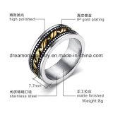 Nuevo diseño anillo de acero inoxidable 316L Anillo de bisutería de calidad superior