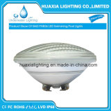 35Wは白いIP68 PAR56 LEDのプール水中ライトを暖める