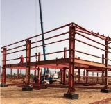 Edifício de casa modular da construção de aço