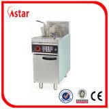 Pesci commerciali/Chichen/friggitrice profonda con micro controllo di calcolatore, friggitrice cinese dei chip del ristorante della fabbrica