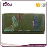 Бумажник женщин неподдельной кожи владельца карточки случая мобильного телефона Fani