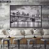 Noir et Blanc New York Urban Canvas imprime