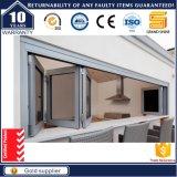 Aislamiento térmico Interior Acordeón puerta plegable con flyscreen