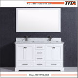 Gabinete de vaidade de banheiro de madeira maciça T9311-36W