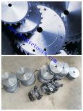 Le CTT en bois de machines-outils de découpage circulaire scie le carbure de tungstène de lame incliné