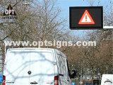 Optraffic OEM En 12966 도로 공도 교통 정리 원격 조종 LED 표시, 메시지 LED 표시, 휴대용 LED 표시
