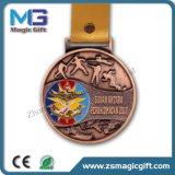 Medalha de China Medalha Fábrica Medalha de Desafio Personalizado com Bronze Plating