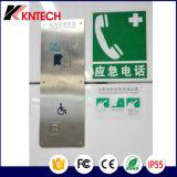 Knzd-11 Elevação de Fábrica do intercomunicador do elevador de mãos livres do telefone