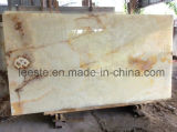 중국 마루 도와를 위한 최고 백색 비취 오닉스 대리석 돌 도와