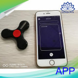 Finger-Spinner Bluetooth Handunruhe-Spinner des Handy APP-Steuerled ohne Minilautsprecher