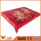 Coperte calde di Raschel di multi disegno del fiore per la tessile domestica