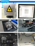 машина маркировки лазера волокна мрамора высокой точности 20W для изготавливания обломока