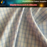 ナイロンあや織りのスパンデックスのワイシャツ(YD1166)のためのヤーンによって染められる小切手ファブリック