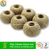 Biodegradable Natual colorido Material yute cuerda