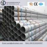 Galvanizado en caliente el tubo de acero al carbono ronda