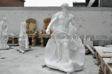 Estátua de mármore Menorial estatuária pedra mármore Ms-019