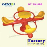 Детская игровая площадка качели, детская игровая площадка на открытом воздухе в саду качели