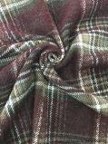 Estilo común de Corea de la verificación de la tela de las lanas