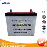 Fornecedor do ouro para auto baterias de 12V 45ah no padrão de JIS