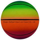 Спорты баскетбола цвета радуги 6 дюймов прочные оживлённые