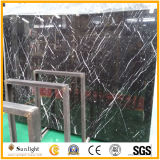 Cheap China Natural Black Nero Marquina Marble / Stone Slabs