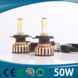 Farol H1 H3 H7 H11 H4 880 do carro do diodo emissor de luz 881 9006 farol 6000k do diodo emissor de luz de 9005 ESPIGAS