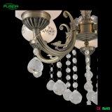 Beleuchtung-Fabrik-Dekoration-Glasleuchter mit Kristallabsinken