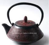 LFGBのFDAのセリウムの中国からの公認の鋳鉄のティーポットの製造業者