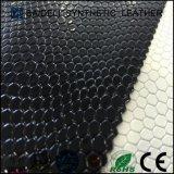 真珠女性袋および靴の家具製造販売業のための表面PVC総合的な革