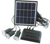 Sistema doméstico de energía solar 20W 12V 17Ah