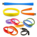 Coloridas creativo 1G/2G/4G/8g/16g/32g Pulsera estilo U disco