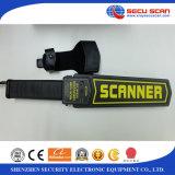 Scanner tenuto in mano alla moda del corpo del rivelatore AT-2008 del Meta per uso dell'aeroporto