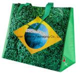 Saco de portador não tecido metálico do saco com capacidade grande