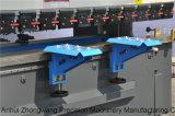 We67k 100t/3200 전동 유압 이중 자동 귀환 제어 장치 동시 CNC 구부리는 기계