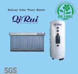 Balcón Separados presión calentador de agua solar con CE