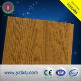 木製カラーデザイン熱い販売PVC天井は天井板をタイルを張る