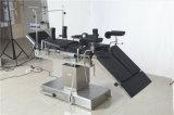 Tableau de fonctionnement de l'équipement de l'hôpital lit chirurgicaux