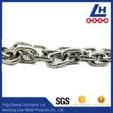 Catena a maglia standard dell'acciaio inossidabile Nacm90 SS304