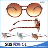 Marca de fábrica plástica de las gafas de sol del diseñador falso de la manera que usted posee